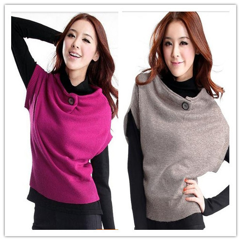 Autumn and winter sweater female elegant all-match loose sweater chain twinset sweater pullover