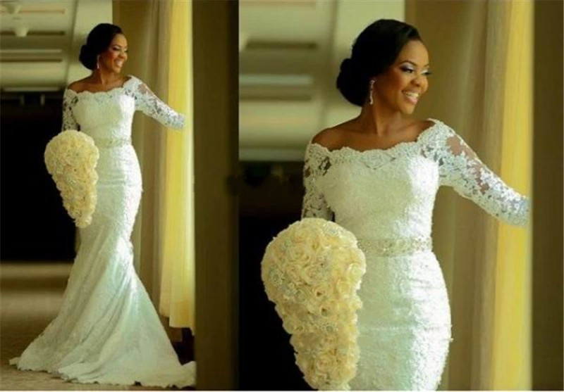 Ghana Wedding Gowns in Gray