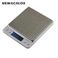 NEWACALOX 2000g x 0 1g Digital Pocket Scale 2kg 0 1 2000g 0 1 Jewelry Scales