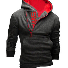 Feitong New Fashion Mens' Long Sleeve Hoodie Hooded Sweatshirt Tops Jacket Coat Outwear Free Shipping(China (Mainland))