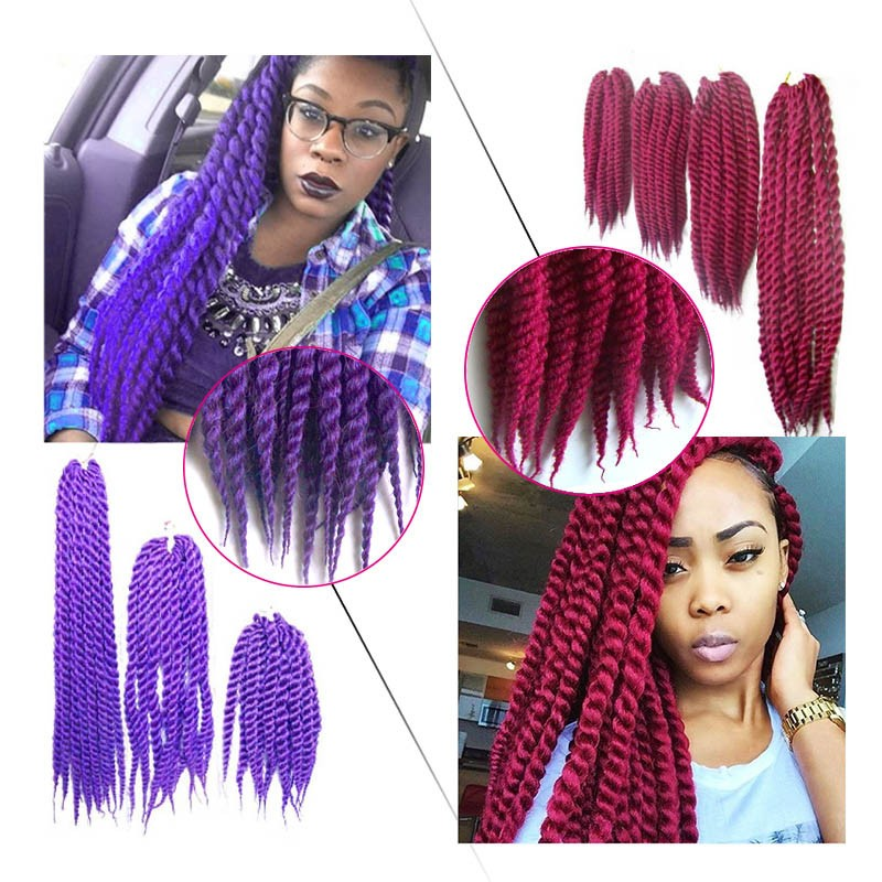 Crochet Box Braids With Color : Crochet braids 2S BOX Braids hair Havana Mambo BOX braid styles 12 ...