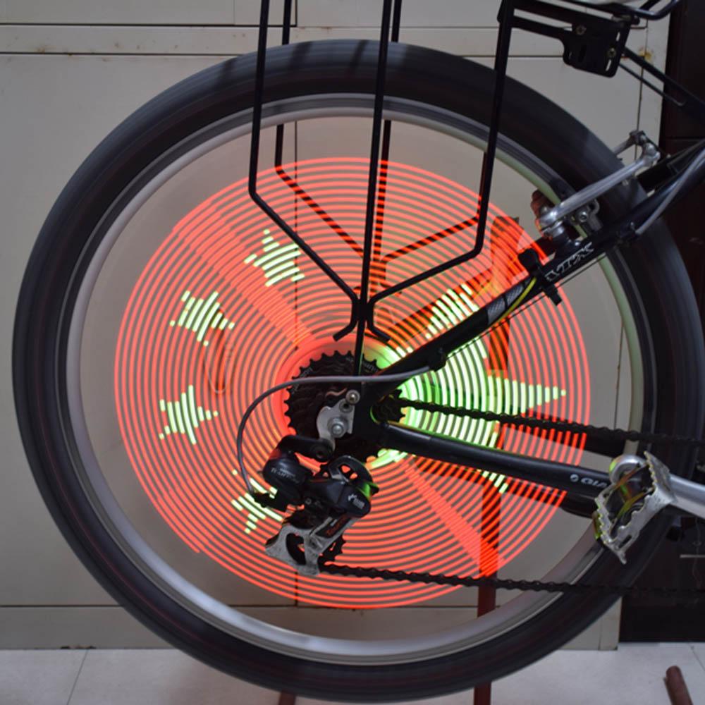 1Pc Smart Intelligent Bike Cycle Spoke Light Rechargeable Bicycle Bike Wheel Light Bicycle Hub Light LED Light(China (Mainland))