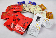 5 Kinds Flavours Oolong Tea Different Wulong including Dahongpao Tieguanyin Milk Tea Peach Oolong Tea Mo5