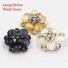 Buy 1651811f1, acrylic Free metal jewelry buttons, button jewelry, DIY coat buttons handmade clothing accessories. for $1.22 in AliExpress store