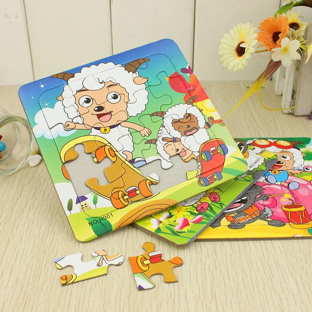 Jigsaw puzzle child animal cartoon puzzle educational toys gift