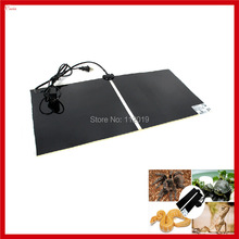 New Electric 14W 28x28cm Pet Warmer Bed Mat Pad Amphibians Temperature Adjustable Pet Reptile Heating Heater Carpet(China (Mainland))