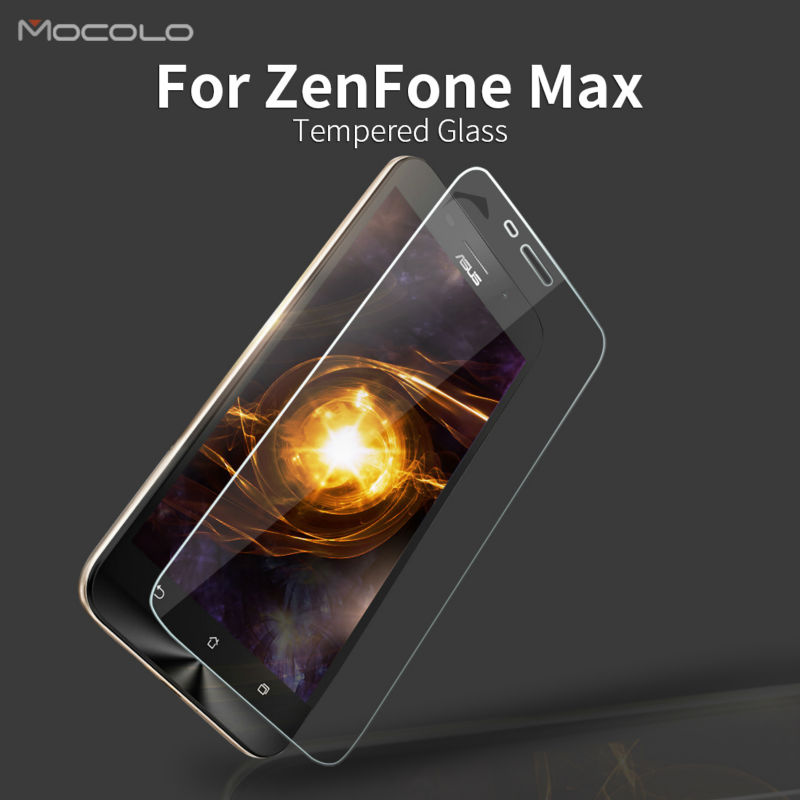 For Asus ZenFone Max ZC550KL Premium Tempered Glass Screen Protector with Retail Packaging and Accessories in Stock Latest New(China (Mainland))