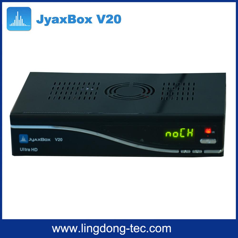 Receptor de satelite de Azbox DVB-S2 JYAXBOX Ultra HD v20 smart tv box with Turbo 8PSK QPSK JB200 Jynxbox for North America(China (Mainland))