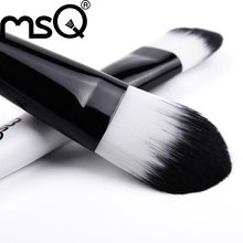 Free Shipping MSQ 5pcs Cosmetic Double End Synthetic Hair Makeup Brushes Set Maquiagem Tools High Standard