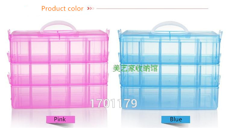 Three removable storage box in a covered storage box king tights toy Lego plastic storage box wholesale(China (Mainland))