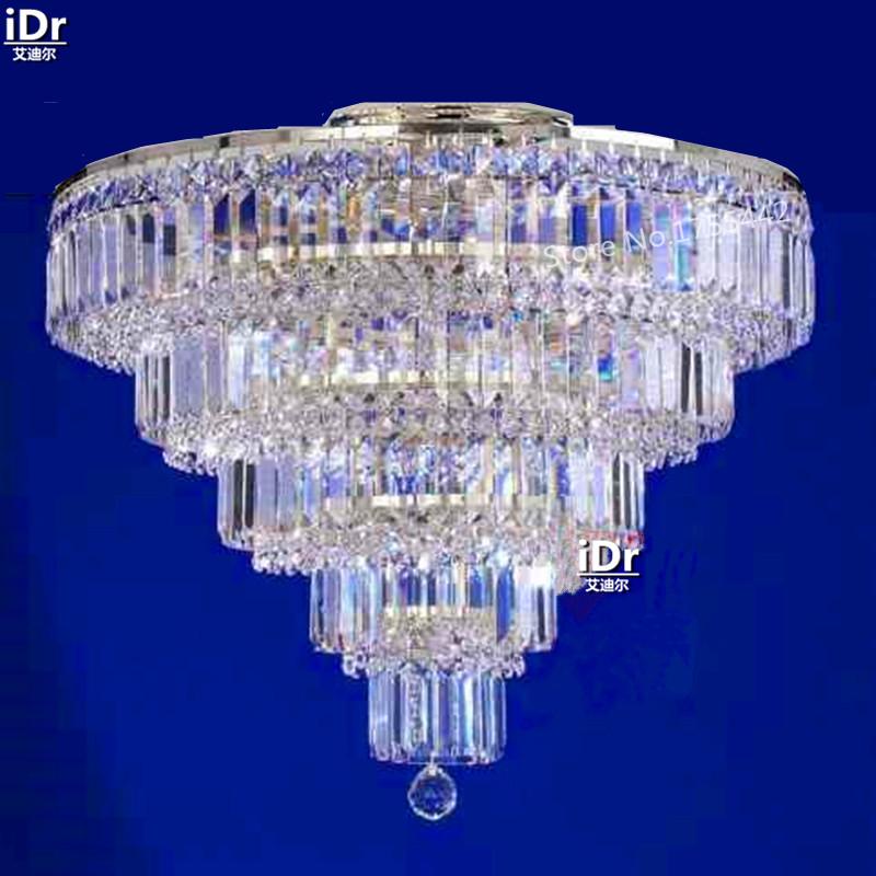 gold Ceiling Lights modern high-grade crystal lamp bedroom lamp hotel lamp lobby lamp 65cm W x 65cm H(China (Mainland))