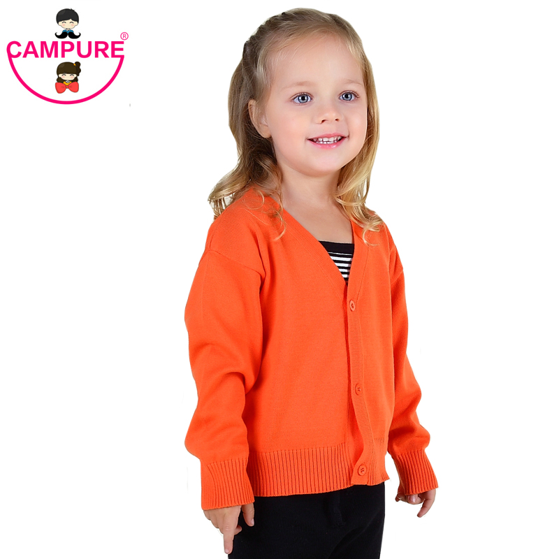 Baby Girls Sweater Cardigan 2016 New Spring Cotton Clothing High Quality Knitted Jacket Fashion Sweater Coat Little Girls Cloth(China (Mainland))