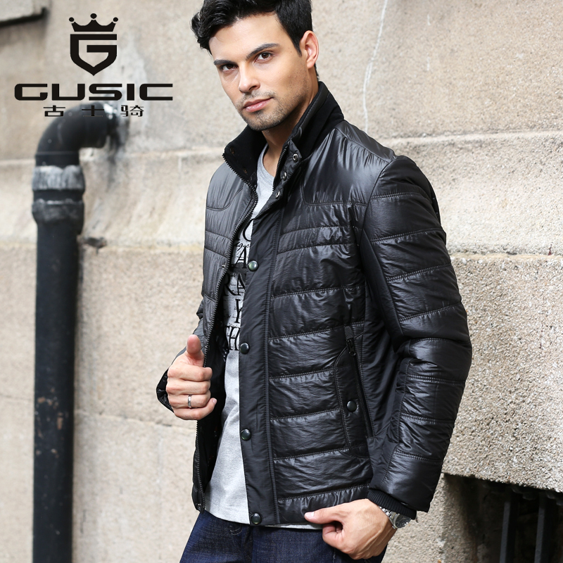 High Quality Winter Jacket Men Brand Gusic Parka Hombre Stand-Collar Duck Down Jacket Men's Fashion Warm Coat Clothing A-078(China (Mainland))