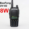 BAOFENG UV 82 Walkie Talkie Authorized 8W Dual Band 128 Channels Handy Hunting Radio Receiver With