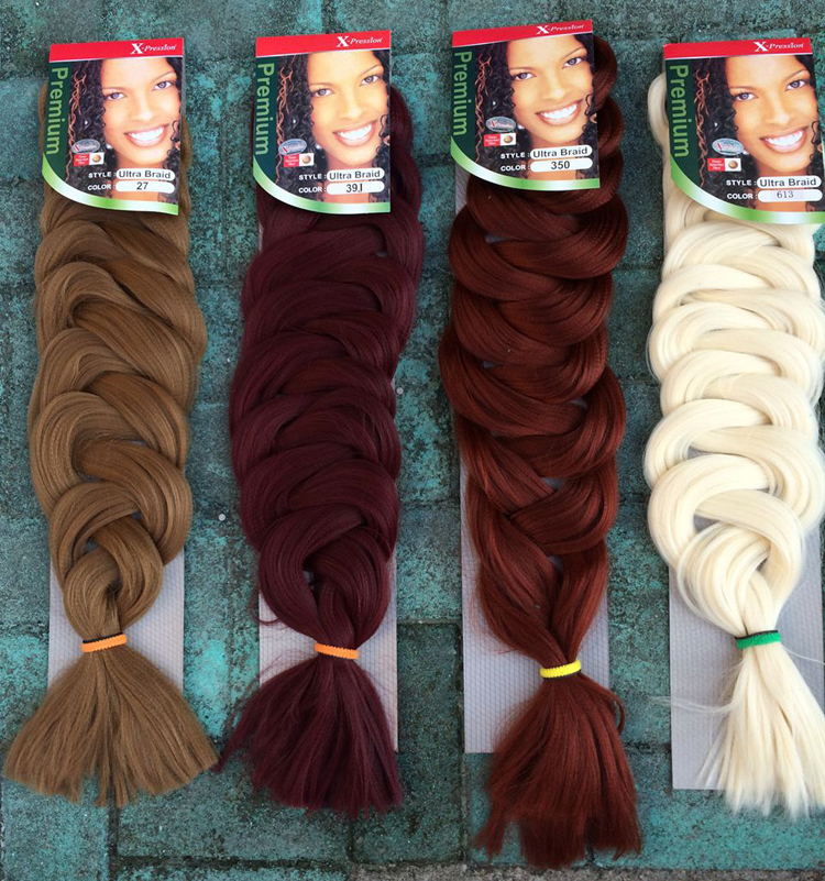 Expression Hair Color 1pc Hair For Braids Expression