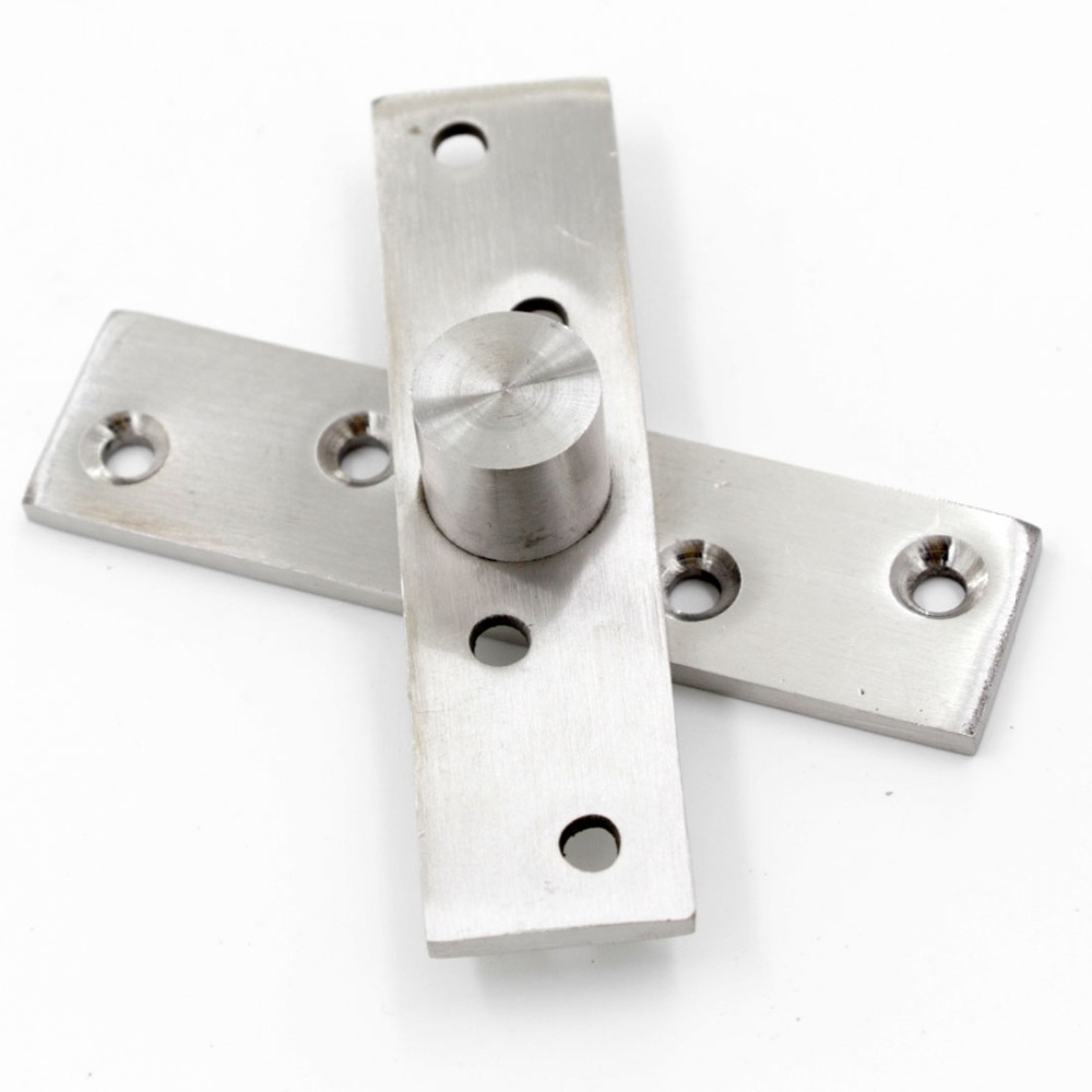 Brand New 360 Degree 95x25mm Stainless Steel Pivot Axis Hinge Upper and lower 4pcs/lot(China (Mainland))