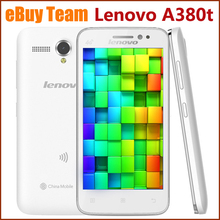 "Original Lenovo A380t 4.5"" TFT Screen, GPS Android 4.4 512M RAM+4G ROM Smart Phone, Quad Core 1.4GHz, Dual Camera ,GSM Network"