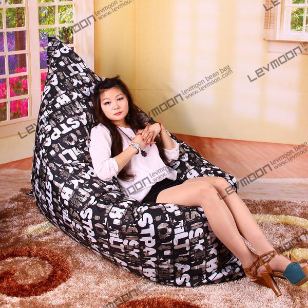 FREE SHIPPING bean bag cover water proof bean bag sofa pattern 140*180cm beanbag sofa outdoor animal beanbag seat adult<br>