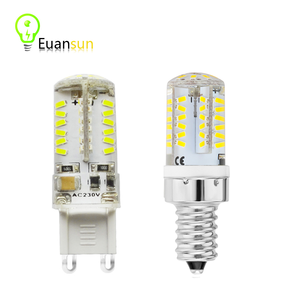 ce&rohs SMD 3014 G9 E14 LED Lamp 5W 6W AC 220V Ultra Bright 3014 SMD Chandelier bulb Replace 20-40W halogen light(China (Mainland))