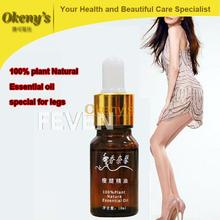 100% pure plant powerful fat burning slimming essential oil anti cellulite Natural Leg Full-body thin weight lose Product #FY088