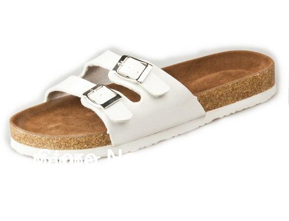 2014 Summer Sandals outdoor slipper cork EVA sole suitable women & men - Two Strap (small) Footbed Summer's Leisure Shop store