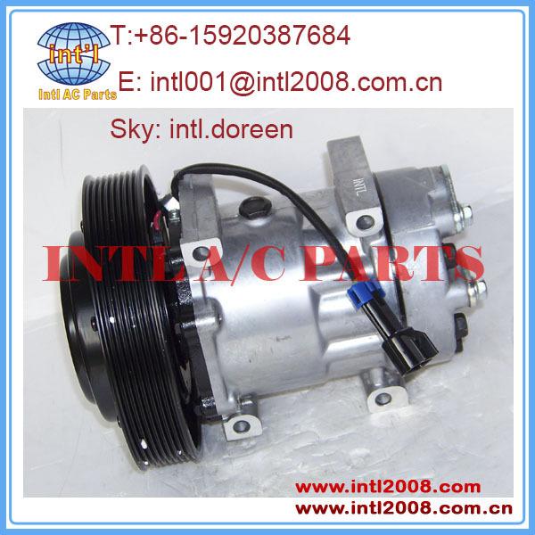 8PK 24v auto air conditioner compressor pump SD7H15 4324 4116 for VOLVO truck FH/FM12 84094705 85000458(China (Mainland))
