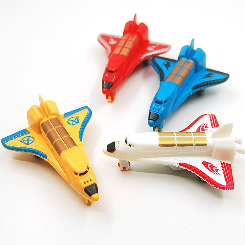 WJA1078 Mini explosion simulation back of a small plane back to power aircraft gifts toys mixed batch of entrepreneurs to spread(China (Mainland))