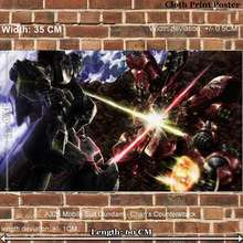 Cloth art Print Poster for Anime A325 Mobile Suit Gundam – Char 's Counterattack width 35 CM length 60 CM
