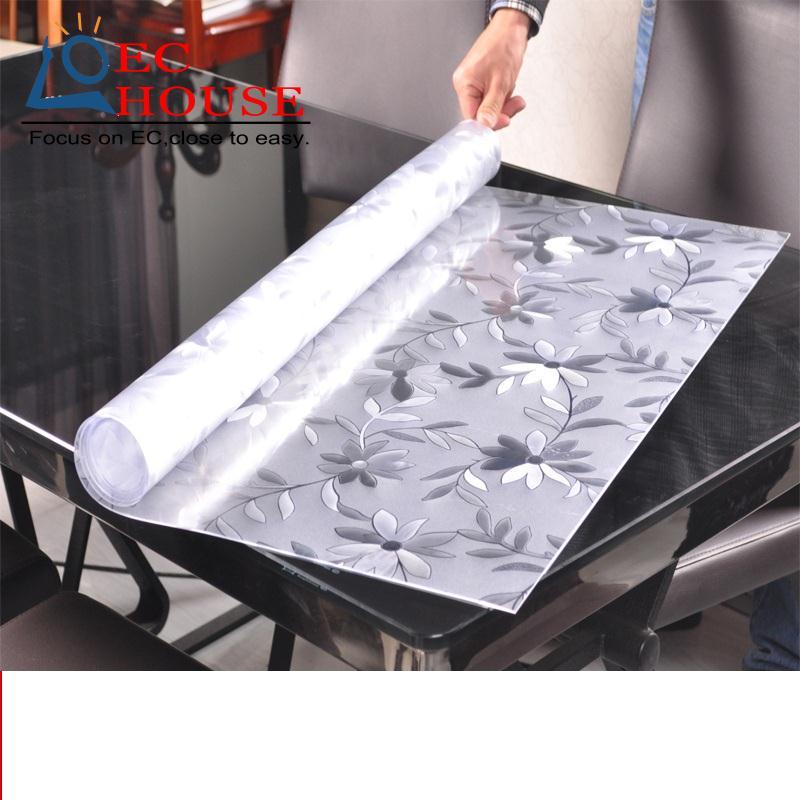 Pvc table plate koop goedkope pvc table plate loten van chinese pvc table plate leveranciers op - Transparante plastic tafel ...