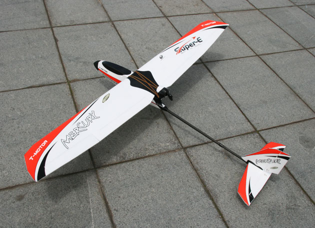 Peakmodel Techone Fixed Wing Plane Frame kit Mercury Glider Training Airplane RC Drone