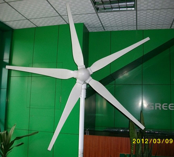 Free Shipping,15years life time 1000W 24V wind turbine,dolphin,5pcs blades,wind turbine, start wind speed 3m/s,CE Certification,(China (Mainland))