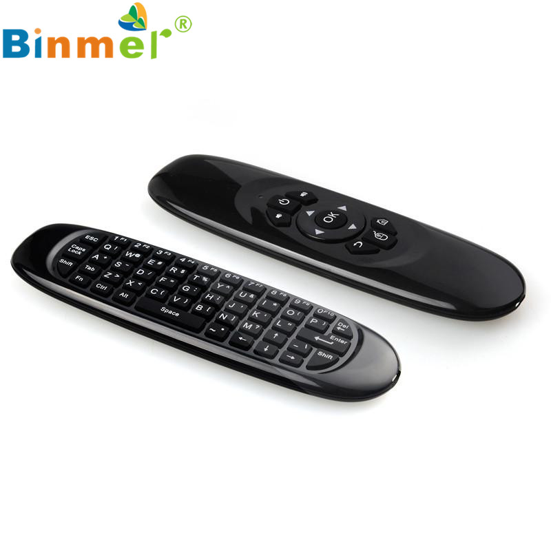 Adroit 2.4G Wireless Gyroscope Sensing Remote Control Keyboard Air Mouse For XBMC Android TV Box JAN12(China (Mainland))