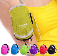9 Colors 6 Inch waterproof Phone bag Armbands Gym Running Sport Armband For iPhone 6/6 plus or under 6 inch screen phone