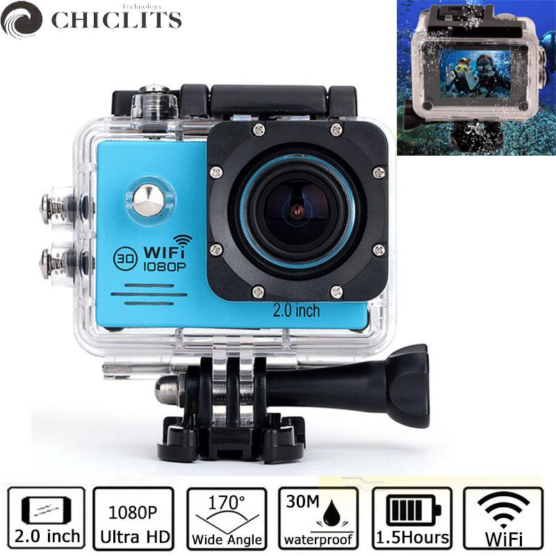 Sport Action Video Camera Full HD 30M Waterproof SDV-5290 1080P Camera Fotografica Sport DV Camcorder Digital Camara Deportiva