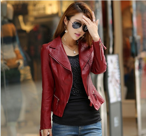 Womens womens fitted leather jacket – Jackets photo blog