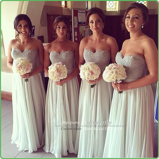 Elegant Vestidos de novia Sweetehart Beaded Lace Top Mint Green Sexy Long Bridesmaid Dresses Pink Chiffon Wedding Party Dress(China (Mainland))