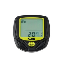 Wireless Cycling Computer Waterproof Bicycle Odometer Speedometer With LCD Display Bike Speedometer Cycling bicycle Computer(China (Mainland))