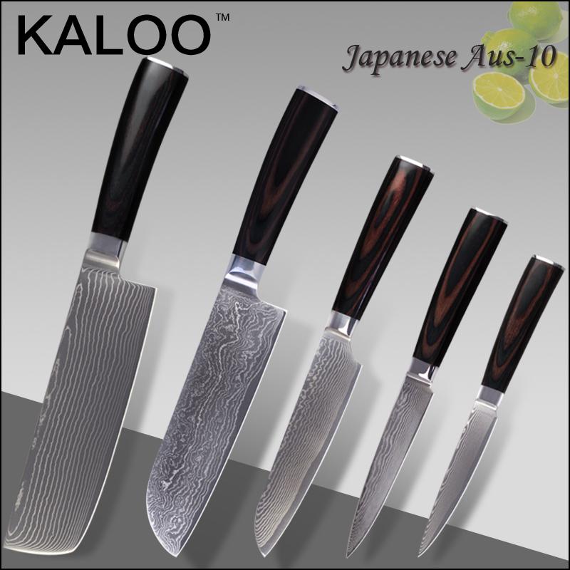Кухонный нож KALOO 7/7 5 santoku 5 4.5 aus/10 67 торговля склад 7 7
