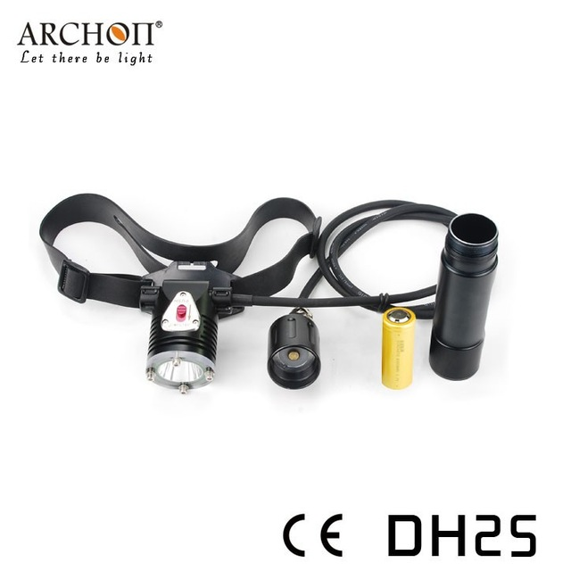 Archon DH25 WH31 Cree XM-L U2 Canister Snorkeling Scuba Diving LED Headlight  -  China Super light CO.,LTD store