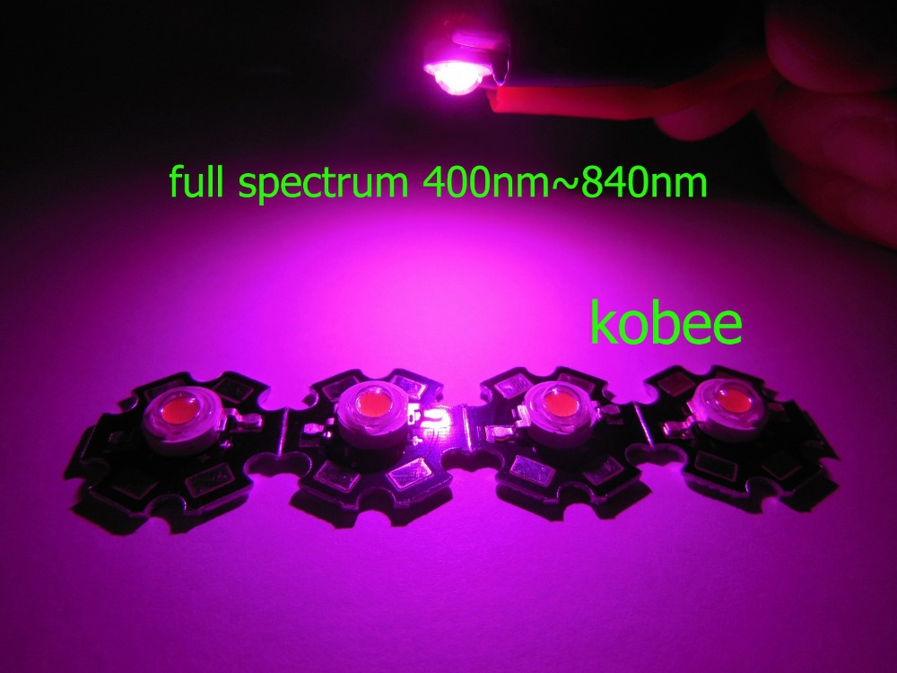 full spectrum 400nm 840nm led grow lights for hydroponics in led bulbs. Black Bedroom Furniture Sets. Home Design Ideas