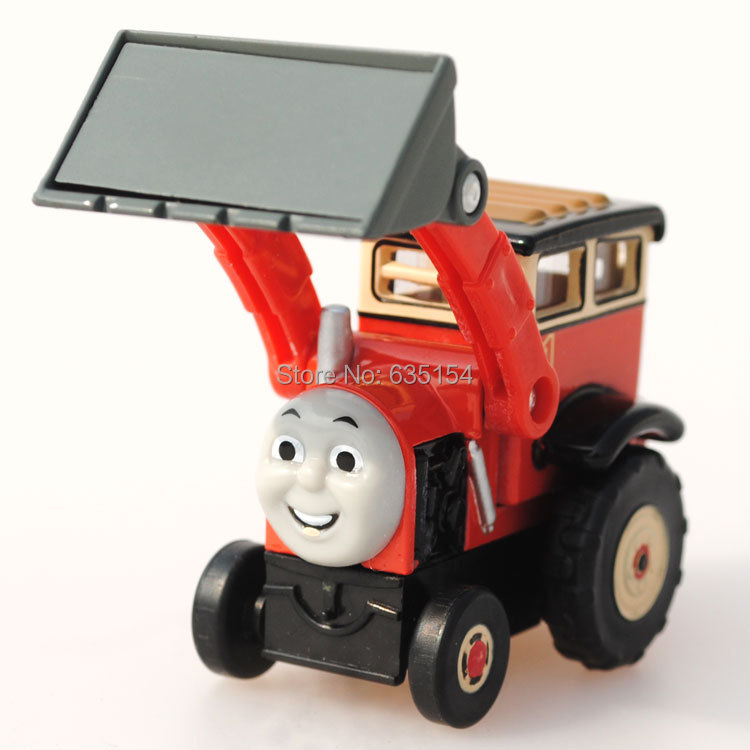 Free Shipping 10 pcs/lot Wholesale Brand New Thomas Train Toys Jack The Front Loader Diecast Metal Magnetic Train Toy Loose(China (Mainland))