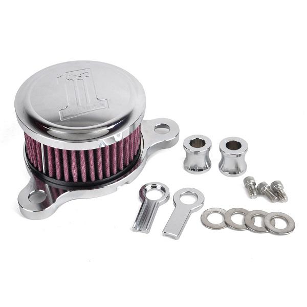 Высокое качество алюминиевых заготовок воздухоочиститель воздушного фильтра система хром воздушного фильтра для Harley спортстер XL883 / 1200