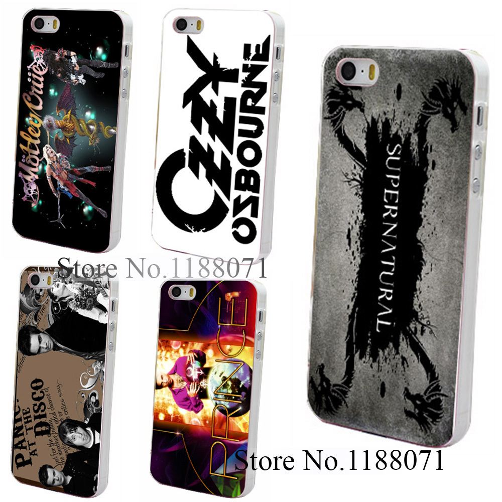 Hard Clear Skin Back Case Cover for iPhone 4 4s 4g 5 5s 5g Horror TV Show Supernatural Logo Style(China (Mainland))