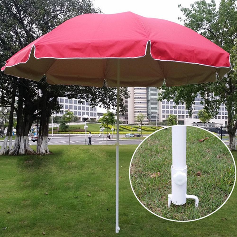 1 шт. Открытый зонт подставка держатель Пляжный Зонтик Рыбалка Зонтик Заземления Недрагоценных Металлов S2