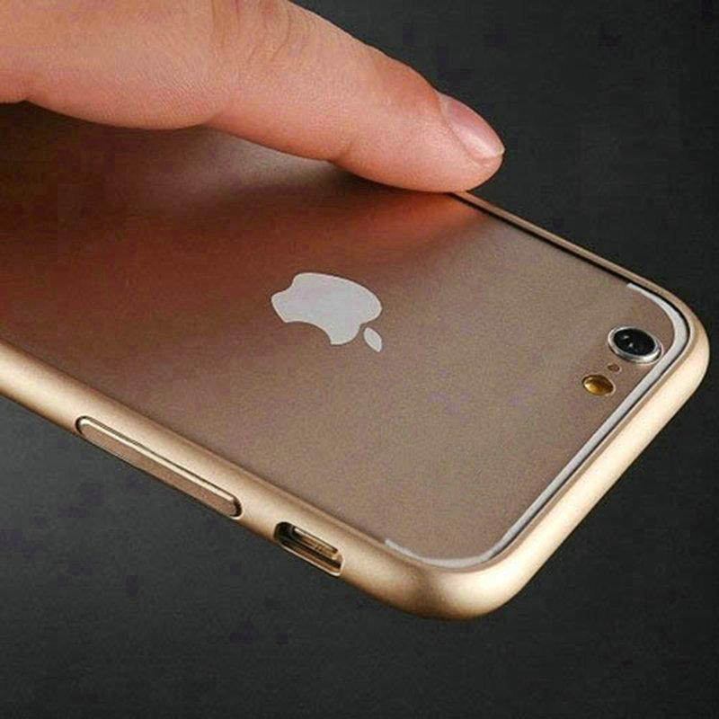 For Funda Apple iPhone7 (4.7) Case UltraThin Aluminum Bumper Phone Case iPhone 7 Plus (5.5) Metal Frame Black Cover Capa Celular(China (Mainland))