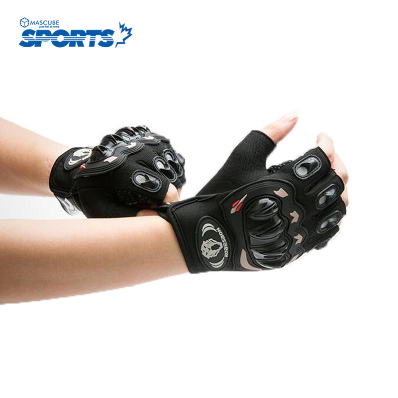 Half Finger Gloves New Fashion Bike Bicycle Shockproof Comfortable Sports Racing Glove Breathable New High Quality Guantes Moto(China (Mainland))