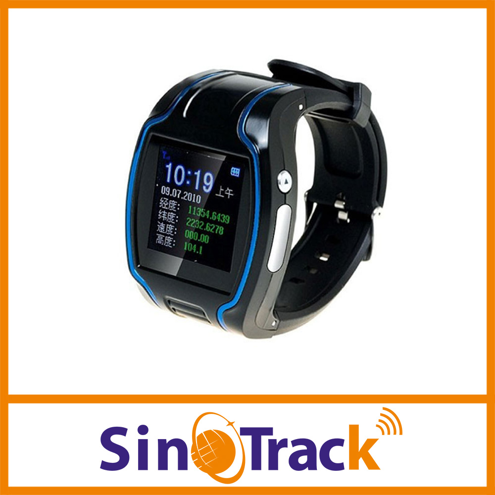 New Smart human TK109 GPS Watch Tracker tracking device 19N SOS For Running Man Two way communication with software(Hong Kong)