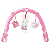 Baby Crib Toy Stroller Rattles Seat Take Along Travel Arch Development Baby Toys for Baby 0-12 month for Pram Educational Toys
