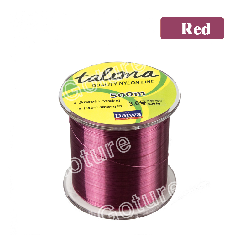 500M EXTREME STRONG NYLON FISHING LINE MONOFILAMENT 4 5.5 8.6 10.6 11.5 13 19 29.8 40 LB(China (Mainland))