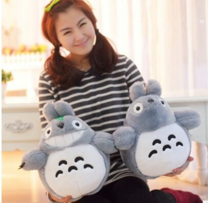 Free shipping wholesale 20cm lovely plush toy, my neighbor totoro plush toy lovely doll totoro For Children's Gift(China (Mainland))